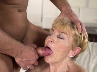 Old granny cunt plowed