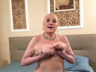 Banging a Busty Granny