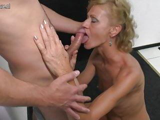 Son licks and fucks hot mature not his mom