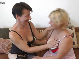 Two mature lesbians getting do dirty things