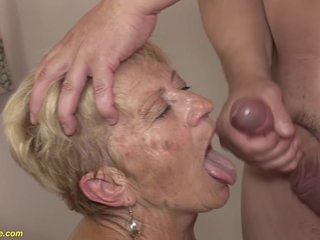 89 years old granny rough fucked