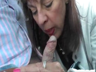 British mature georgie car blowjob