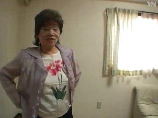 65 Asian Granny Bath