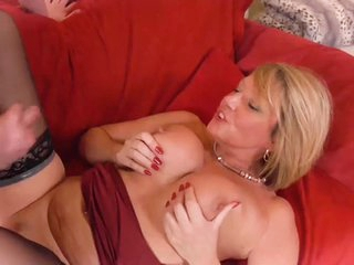 AgedLovE Grandma Seduced and Fucked