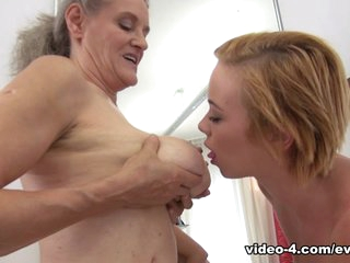 Tricia Teen & Elisa A in Cute 18YO & 58YO Grandma Share Rocco - EvilAngel