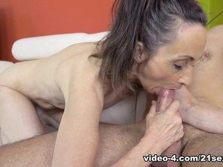 Fabulous pornstars Rob, Milly in Exotic Brunette, Grannies xxx movie