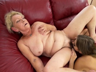 Desirable Julia Red Eats a Grandma