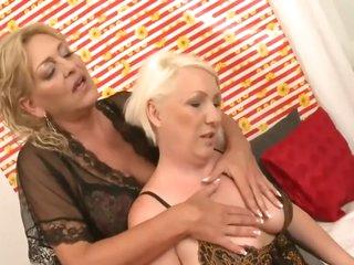 Older women on bed