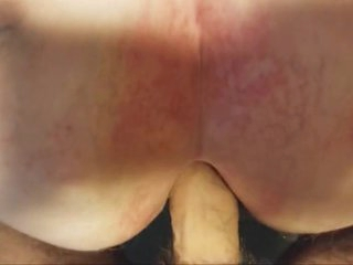 Fat granny gets ass fucked