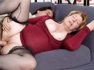 Penny Sue  Eric John in Horny Grannies Love To Fuck #12 - DevilsFilm