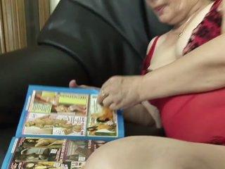 Mature & Hairy Granny