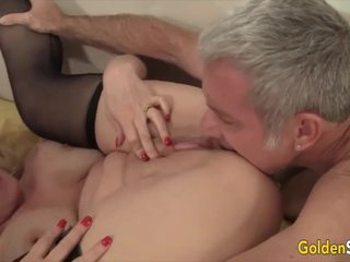 Golden Slut - Gorgeous Busty Grandma Cala Craves Compilation Part 2