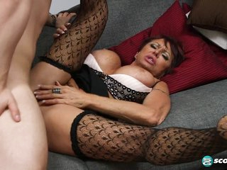 Gina gives new meaning to, Fuck The Boss! - 60PlusMilfs