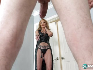 63-year-old Sierra dominates a 24-year-old - 60PlusMilfs