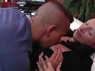 Mature mother fucked hard by her young lover