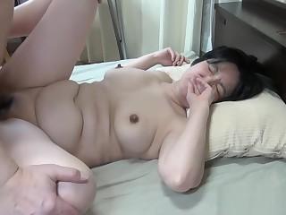 Japanese granny still wants pussy pleasure