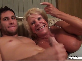 Nursing Home Orgy: Granny's Violated Again! - Vivid