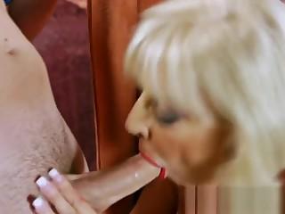 Big Breasted Mature Loves Stiff Dicks