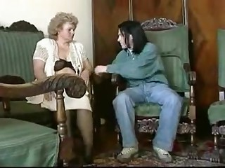 BBW granny gets fucked by a young chap