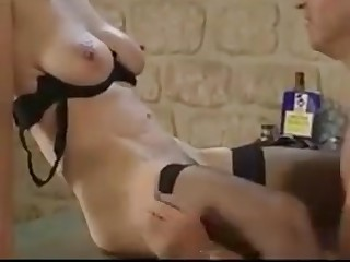Two french matures get fucked in the office