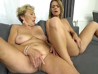 Horny Teen Enjoying Lesbian Sex With a Teen