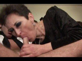 Hot Hairy Granny Get Hard Fuck
