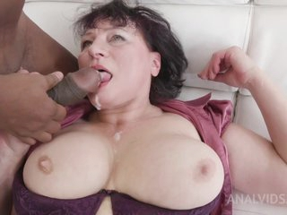 Danja Vieille - Anal Sex With Mature Milf Danja Vieille Ks028