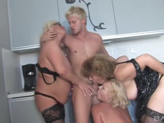 3 Hairy Milfs Mature Sluts And 1cock Cunt And Arse Fucking
