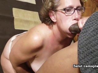 Chubby Granny Crazy Interracial Porn Video