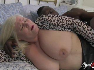 Interracial Milf Hard Fuck With Big Black Penis