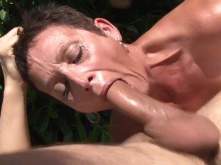 Granny Sex Orgy Outdoor - Interracial Porn
