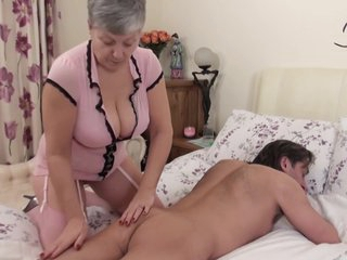British Busty Granny
