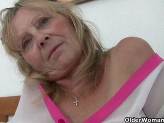 British grandma loves getting played with